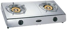 Brand New Bromic Deluxe Wok Cooker, Two Burner  LPG  With Hose