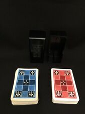 Vintage! KEM Fleur de Lis  Design Double Deck Playing Cards in Original Box