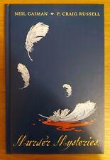 Sandman. MURDER MYSTERIES Graphic novel. Neil Gaiman. P Craig Russell. 2002.