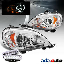 1998-2001 Mercedes Benz W163 ML Class [CCFL Halo] Projector Headlights COMBO