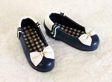 "1/4 bjd msd mdd girl doll navy flat shoes Dollfie 16"" Disney doll ship US"