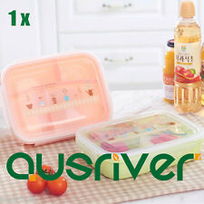 New Separated Lunch Box Bento Picnic Fruit Food Storage Containers Microwave