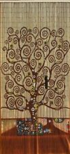 125 strand Beaded Curtain Wall Hanging Room Divider bamboo Beads Tree Of Life