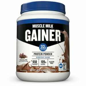 Muscle Milk Gainer Protein Powder Chocolate 28.6 oz 1.79 LBS - CHARITY DRIVE