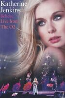 BELIEVE: LIVE FROM THE O 2 (BLU-RAY) - JENKINS,KATHERINE   BLU-RAY NEW+