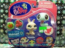 Littlest Pet Shop Walmart Excl. DWARF BUNNY lot #1258 SNAKE #1259 Retired NIB!