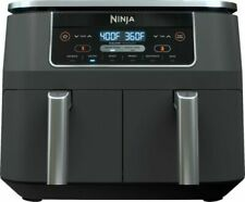 Ninja DZ201 8qt 2 Basket Air Fryer with Dual Zone Technology 6 In 1