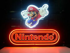 New Nintendo Super Mario Real Glass Neon Light Sign Home Beer Bar Pub Sign H01