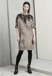BRUNELLO CUCINELLI Velvet Shift Dress $1,845.00