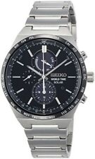 SEIKO SPIRIT SMART watch World time with solar SBPJ025 Mens Made in Japan