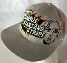 FAMOUS Stars & Straps Hat Cap FSAS Spellout Hip Hop Punk Travis Barker Skate BMX