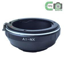 AI-NX Mount Adapter Ring for Nikon F Lens to Samsung NX1100 NX30 NX1 NX3000 NX5