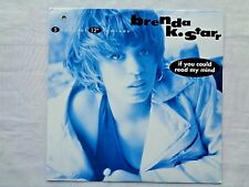 Brenda K. Starr If You Could Read My Mind 5 Remixes 1991 Epic 1st 1A/1A Press NM