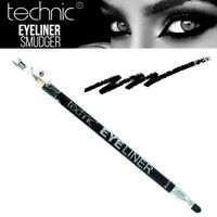Technic Eyeliner Pencil With Smudger and Sharpener Black