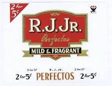 J. R. Jr., inner cigar box label