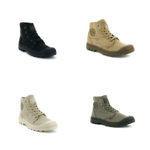 NEU Palladium Pampa Baggy NBK Leder Boots Grau 76434-075-M SALE