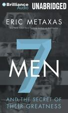 Seven Men: And the Secret of Their Greatness (CD) by Eric Metaxas
