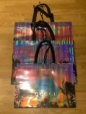 3 X Gucci Paper Large Presentation Gift Bag NEW !!!
