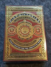 New Theory11 High Victorian RED Playing Cards Deck!! Magic / Poker / Cardistry