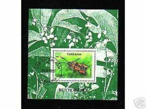 0207+ TANZANIE  BLOC  INSECTES  1996