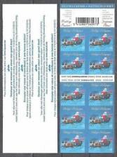 Belgium**CHRISTMAS-SANTA CLAUS-NOEL-PERE NOEL-Booklet 10stamps-2010-KERSTMIS