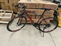 2021 Road Bike 21 Speed Men's Bikes 700C wheels Bicycle Disc Brakes Upgraded B