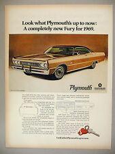 Plymouth Fury PRINT AD - 1968 ~~ 1969 model