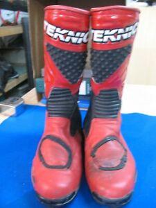 Teknic Leather Vintage Riding Boots, Men's Size 11