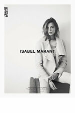 ISABEL MARANT 'clayne jacket' shearling fur leather suede ecru off white 38