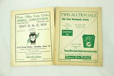 Federal Coin Exchange Penn-Ohio Coin Clubs Vintage Auction Catalog Lot