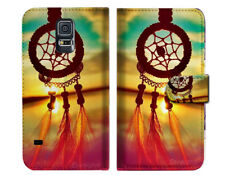 Dream Catcher Wallet Case Cover For Samsung Galaxy S5 - A008