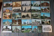 Church Postcard Lot over 50 per set. (set 7)