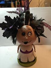 "11"" Bride Of Frankenstein Halloween Bobblehead Decoration"