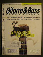 GITARRE & BASS 2000 # 2 - SMASHING PUMPKINS TED NUGENT TEN YEARS AFTER STEELY DA