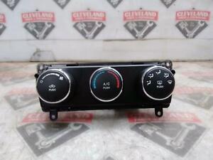 2009-2010 Dodge Challenger SRT8 OEM US Heater Heat AC Climate Control Panel
