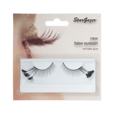 Stargazer Reusable False Eyelashes Black Feathers