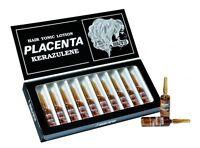 Vitalfarco Placenta Hair Treatment Lotion 10ml (12 Ampouls) Kerazulene