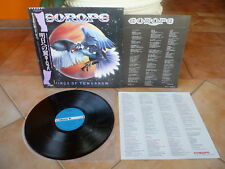 "Europe ""Wings of Tomorrow"" audiophile GIAPPONE LP + obi-MINT -"