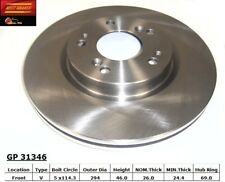 Disc Brake Rotor fits 2004-2009 Mitsubishi Galant Eclipse Outlander  BEST BRAKES