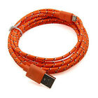 3/6/10FT Hemp Rope Micro USB 2.0 Charger Charging Sync Data Cable For Cell Phone