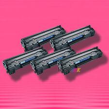 5 Non-OEM Alternative TONER for HP CE285A 85A LaserJet P1102 P1102w P1109w M1130