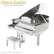 Fascinations Metal Earth Grand Piano Laser Cut 3D Model
