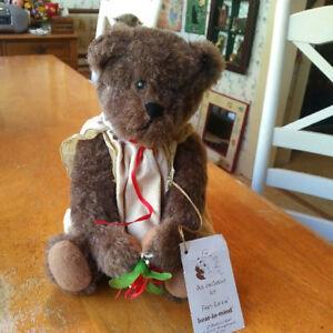 Vintage LE Artist Teddy Bear by Kathleen Lombardi, Bear in Mind, Fran Lewis
