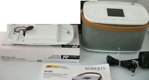 ROBERTS R100 INTERNET & DAB RADIO & BLUETOOTH MAINS & BATTERY WITH MULTI-ROOM