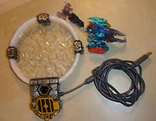 SKYLANDERS STARTER TRAP TEAM XBOX 360 PORTAL + AXE TRAP & SNAP SHOT FIGURE