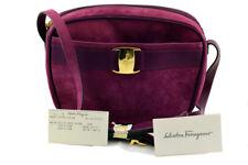 Salvatore Ferragamo purple handbag   Unused, excellent condition