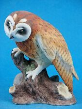 Short-eared Owl - Bird Figurine by Boehm #2007S - Made in the England