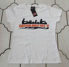 EXC Auténtico HARLEY DAVIDSON Evento Damas Niñas Camiseta M para mujer