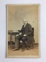 Victorian Carte De Visite CDV Photo: Gentleman: Named CANNON