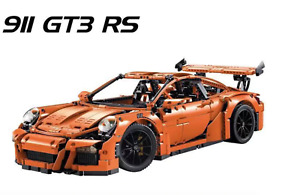 1580Pcs Lepin 911 gt3 rs Technic Sport Car Building Blocks legobrick kids toys